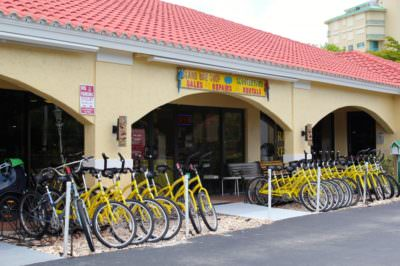 Scootertown & Island Bike Shop scooter rentasl, bicycle rentals and tours Marco Island, Florida