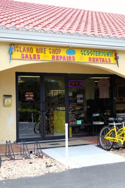 Scootertown & Island Bike Shop rentals Marco Island, Florida