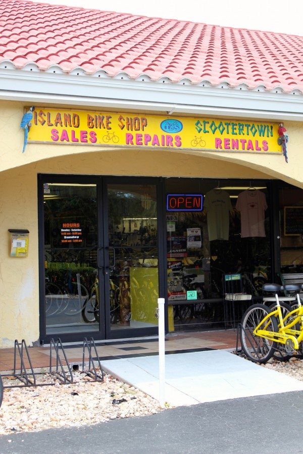 Scootertown & Island Bike Shop rentals Marco Island, Florida