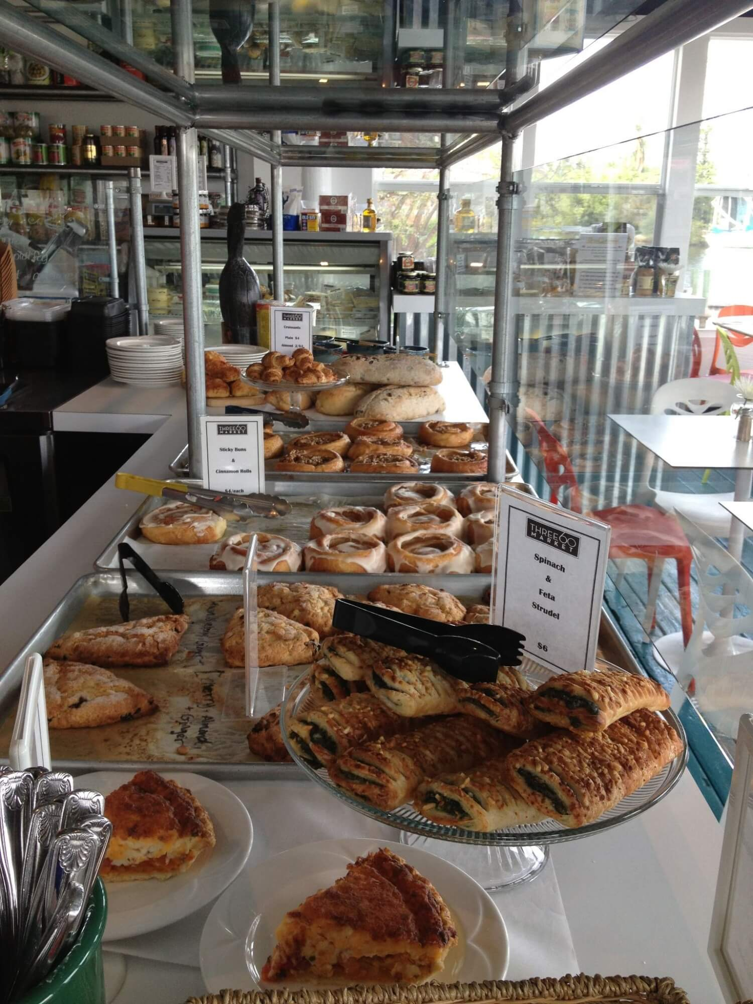 Three60 Market pastry, quiche, baked goods Naples, Florida