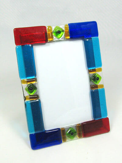 MustDo.com | Must Do Visitor Guides | Blownglass frame Blue Mangrove Gallery Marco Island, Florida