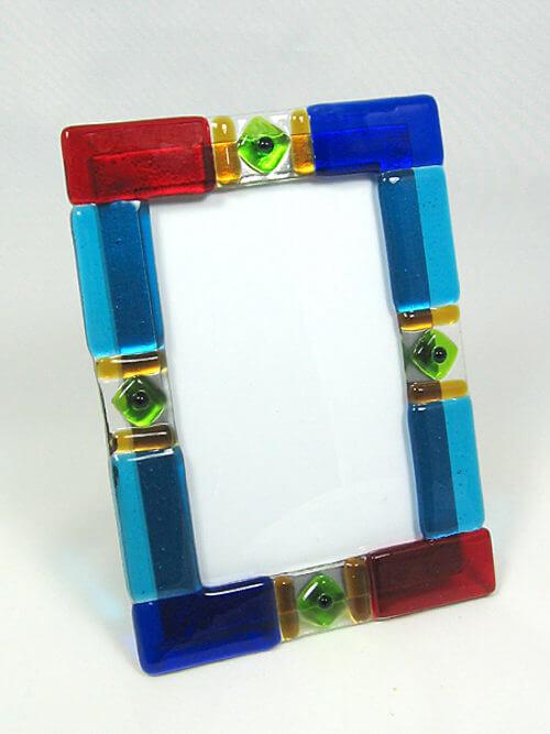 MustDo.com | Must Do Visitor Guides | Blownglass frame Blue Mangrove Gallery Marco Island, Florida
