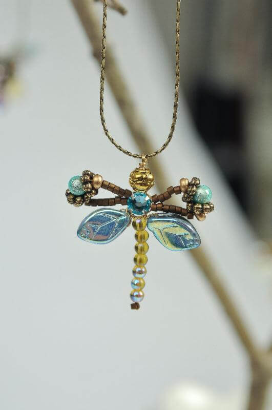 MustDo.com | Must Do Visitor Guides | Dragonfly necklace from Blue Mangrove Gallery Marco Island, Florida