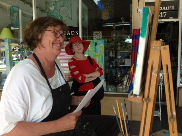 Tara O'Neill Meet the Artist Blue Mangrove Gallery Marco Island, Florida | MustDo.com