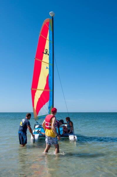 YOLO Watersports Hobie sailboat rentals Captiva Island, Florida MustDo.com