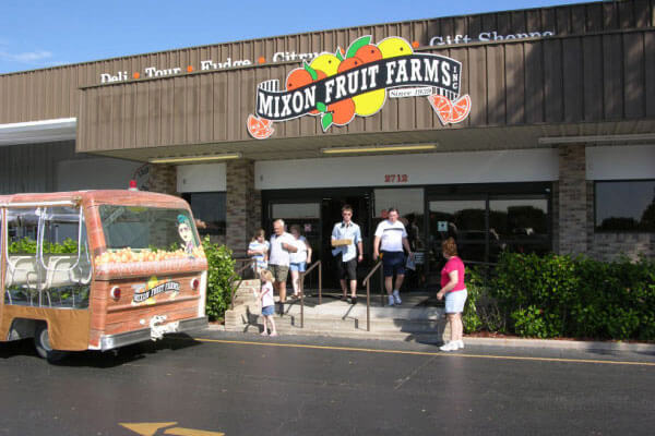 Must Do Visitor Guides | Sarasota area attractions. Mixon Fruit Farms Bradenton, Florida