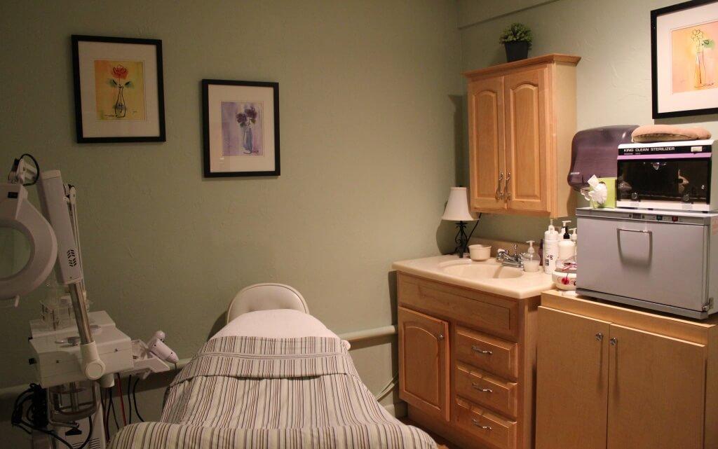 Sanibel Day Spa facial treatment room Sanibel Island, FL