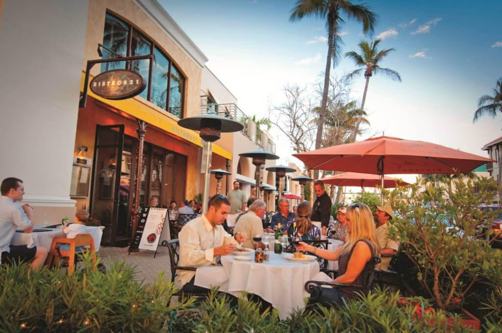 5th Avenue South dining, shopping, nightlife Naples, FL