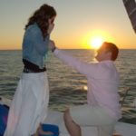 Cool Beans Cruises romantic sunset sail Engagement Naples, FL | MustDo.com