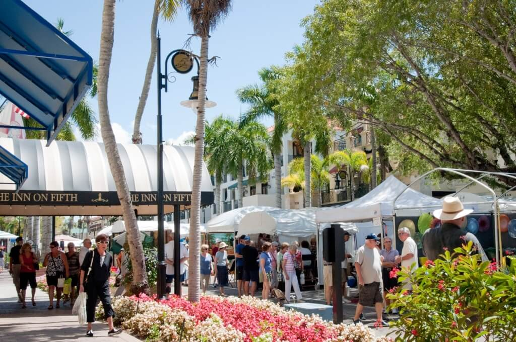 Downtown Naples Arts Festival 5th Avenue So. | MustDo.com