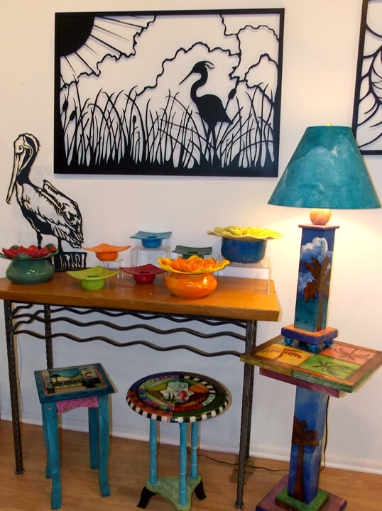 Random acts of art gallery offers eclectic inspirational for Craft stores naples fl