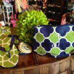 Spartina Flip flop, Royal Standard Mono Makeup Bag Molly's! Sarasota, FL