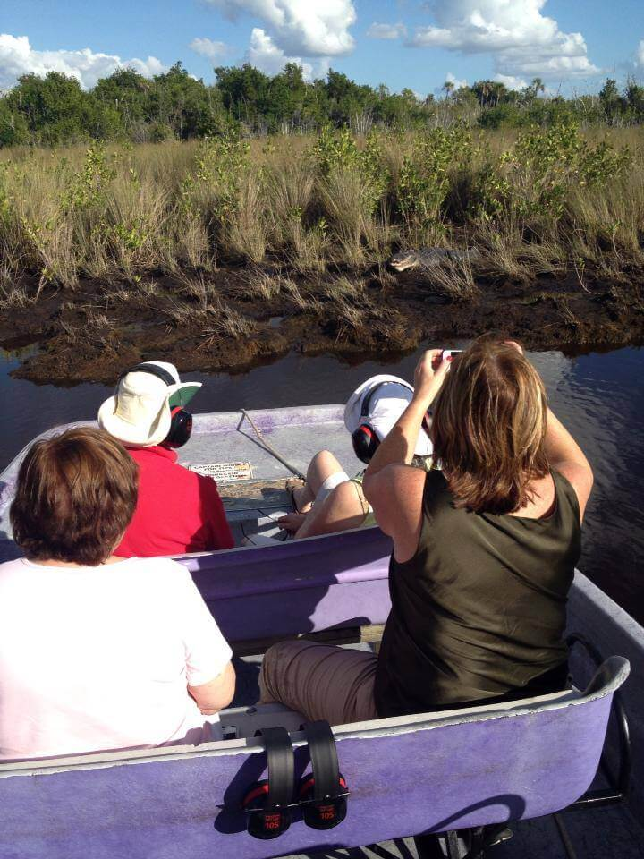 MustDo.com | Alligator sighting Everglades Island Airboat & Totch's Island Tours Everglades, Florida