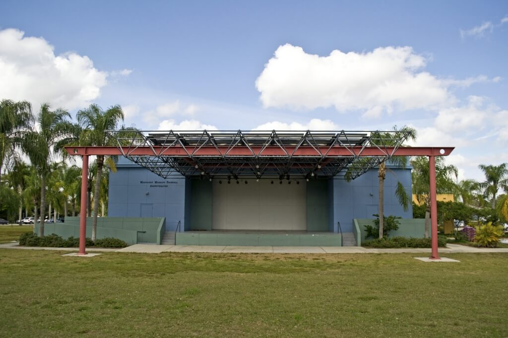 Lee County Alliance for the Arts amphitheater Ft. Myers, FL