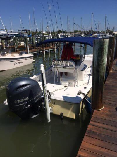 Reel Finatic Sea Trek fishing boat Fort Myers Beach, FL