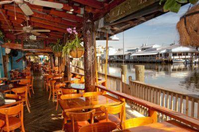 MustDo.com | Riverwalk waterfront restaurant Tin City. Naples, Florida. Photo by Debi Pittman Wilkey