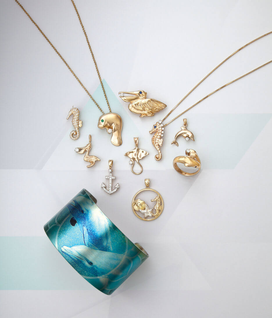 MustDo.com | Sea Life jewelry Cedar Chest Fine Jewelers Sanibel Island, FL