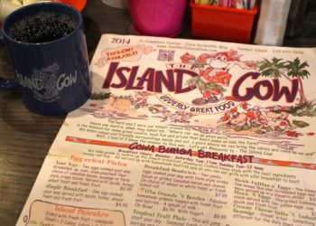 MustDo.com   The Island Cow restaurant menu features 300+ menu items! Sanibel Island, Florida
