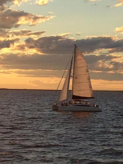 MustDo.com | Must Do Visitor Guides | Kathleen D Sailing Catamaran sunset tour Sarasota, Florida