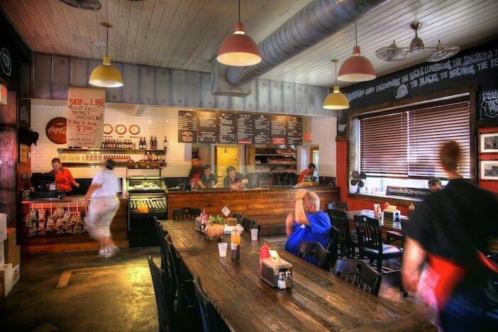 MustDo.com | Must Do Visitor Guides top 10 Sarasota, Florida dining spots - Nancy's Bar-B-Q restaurant.