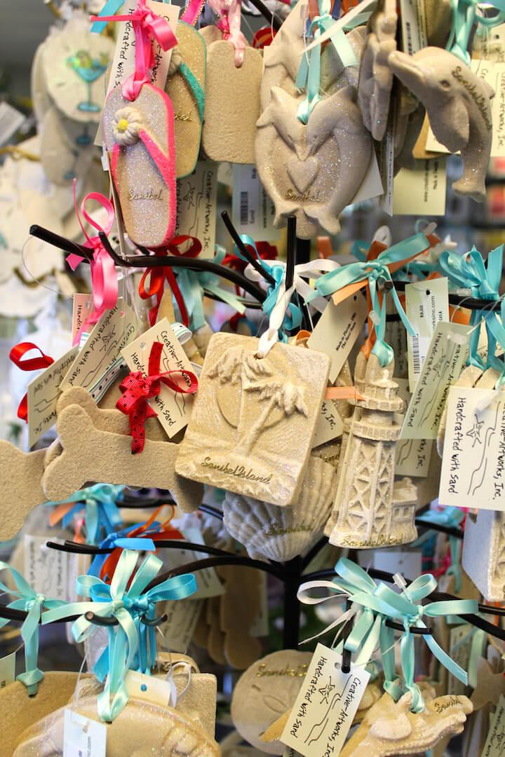 MustDo.com | Sanibel souvenirs from Suncatcher's Dream gift shop on Sanibel Island, FL