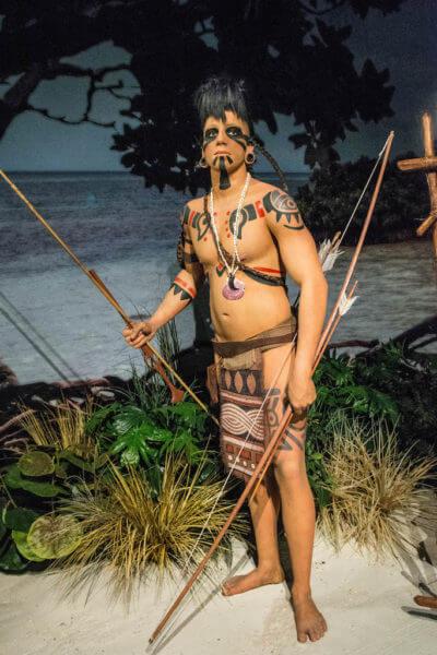 MustDo.com | Calusa Indian exhibit at Marco Island Historical Museum Marco Island, Florida. Photo credit Debi Pittman Wilkey.
