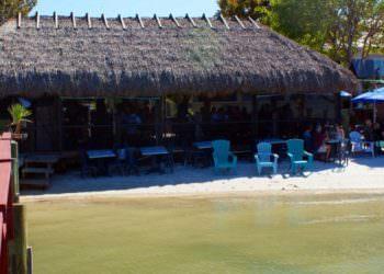 MustDo.com | Capri Fish House waterfront Chickee Hut Bar Isles of Capri, Florida