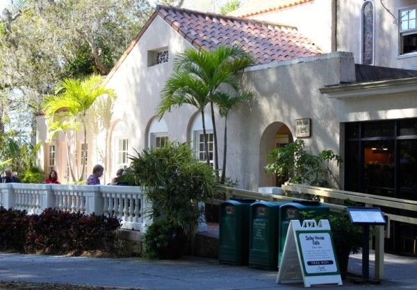 MustDo.com | Enjoy a snack or lunch at Selby House Cafe Marie Selby Botanical Gardens Sarasota, Florida