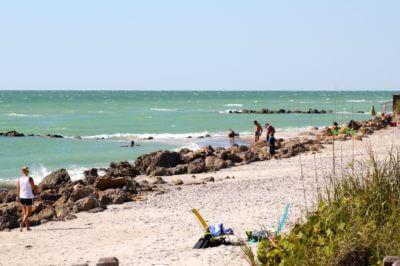 Gulf of Mexico and Caspersen Beach, Venice Florida. Photo credit Nita Ettinger, Must Do Visitor Guides, MustDo.com.