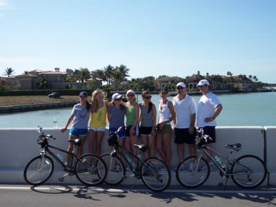 Must Do Visitor Guides, MustDo.com   Island Bike Shop bicycle tour group Marco Island, Florida.