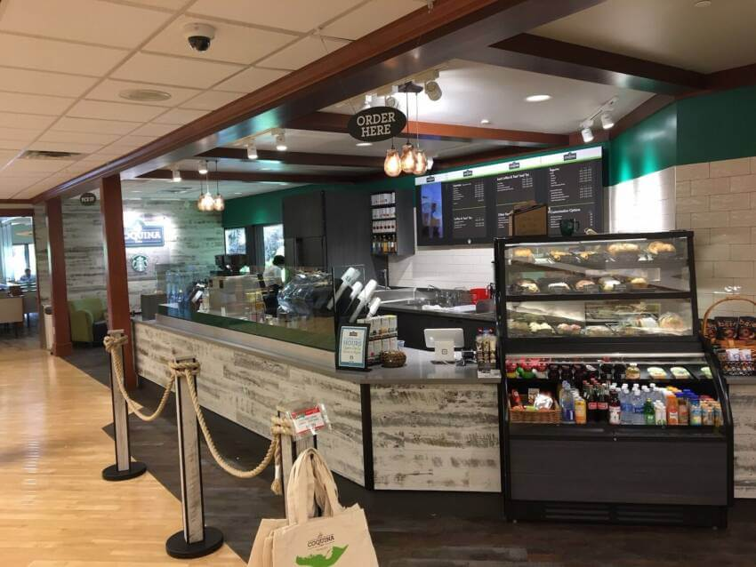 Jerry's Foods cafe in Sanibel, Florida.