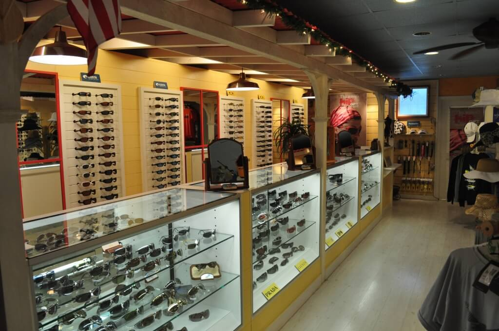 MustDo.com | Large selection of glasses at Sanibel Sunglass Company, Sanibel Island, FL