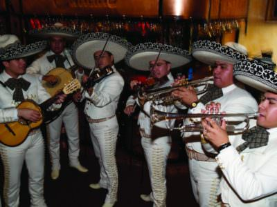 MustDo.com   Live Mariachi band at Mi Pueblo Mexican restaurant Venice, Sarasota, Florida