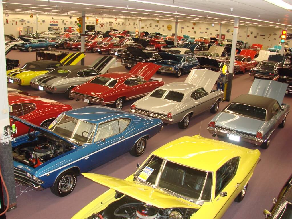 Muscle Car City is One Man's Dream Car Collection   All ...