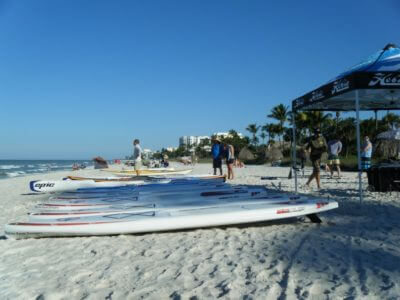 MustDo.com, Must Do Visitor Guides. Standup paddleboard rentals from Naples Kayak Company, Naples, Florida