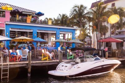 MustDo.com | Nervous Nellie's Fort Myers Beach waterfront restaurant. Photo credit Debi Pittman Wilkey.