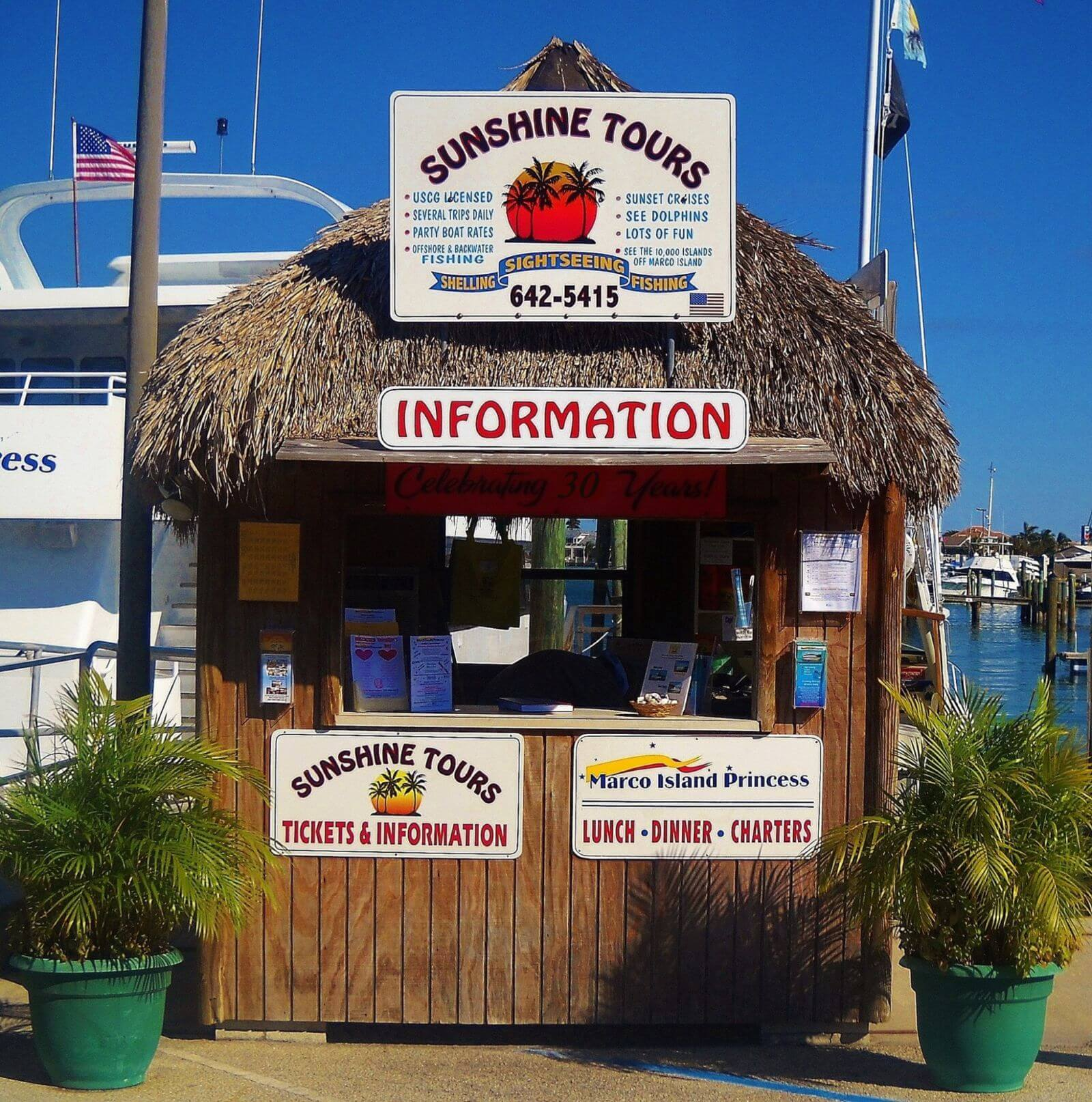 MustDo.com | Sunshine Tours offers charter fishing, sightseeing and shelling tours from Marco Island, Florida