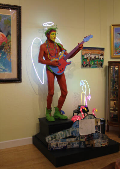 MustDo.com | Eclectic collection of whimsical art on display at Marietta Museum of Art & Whimsy Sarasota, Florida.