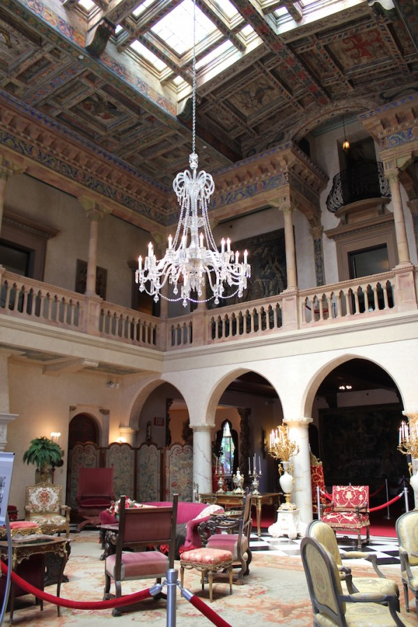 MustDo.com | The lavish interior of Ca d' Zan Mansion The Ringling Museum in Sarasota, Florida.