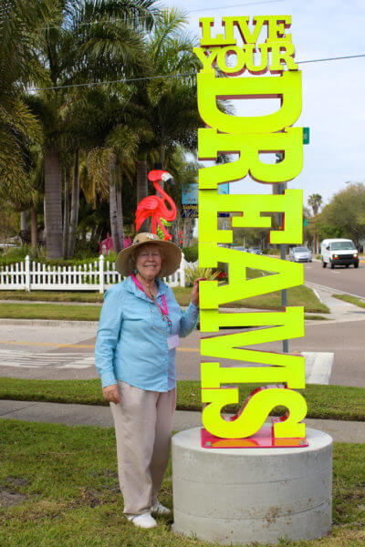 MustDo.com | Marietta Museum of Art & Whimsy Founder and Curator is Marietta (Mary) Lee is living her dream in Sarasota, Florida