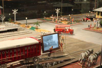 MustDo.com | Miniature Circus exhibit at The Ringling Circus Museum Sarasota, Florida.
