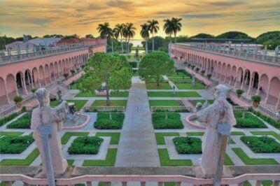 MustDo.com | The Ringling Courtyard gardens Sarasota, Florida.