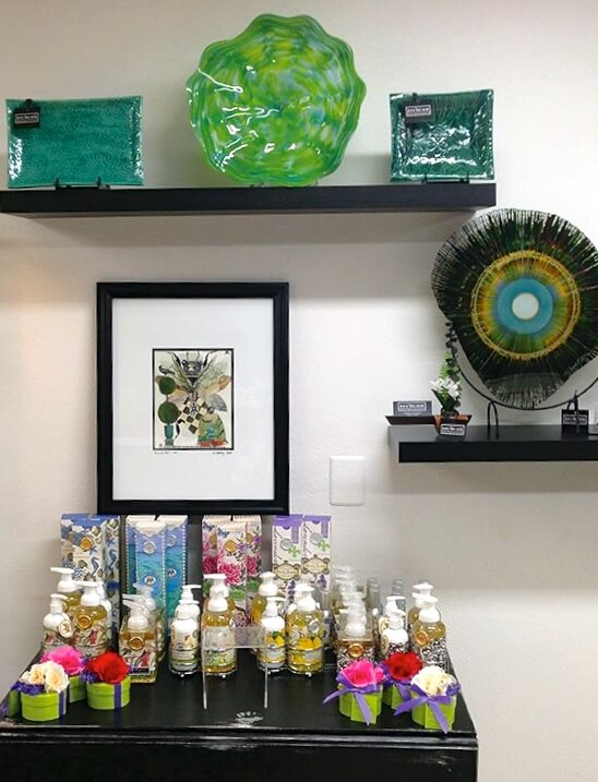 MustDo.com | Beautiful handcrafted artwork and gifts Just/Because boutique St Armands Circle Sarasota, Florida