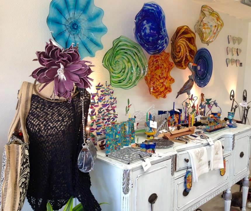 MustDo.com | Handcrafted artwork, jewelry and handblown glass Just/Because boutique St Armands Circle Sarasota, FL