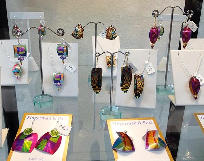 MustDo.com | Singerman & Post Handmade earrings at Just/Because boutique St Armands Circle Sarasota, FL