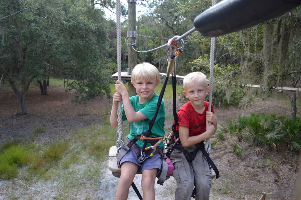 MustDo.com | Kids love TreeUmph! Adventure Course in Bradenton, Florida
