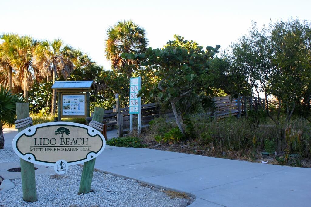 Lido Beach Multi Use Recreational Trail Key Sarasota Fl