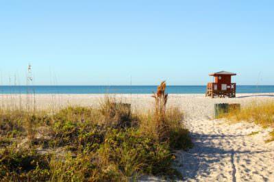 MustDo.com | Early morning on Lido Beach, Lido Key Sarasota, Florida.