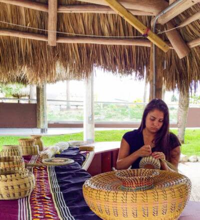 MustDo.com | Miccosukee Indian Village museum exhibit Everglades, Florida.