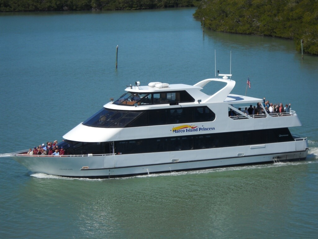 MustDo.com | Marco Island Princess lunch, dinner and sunset cruises Marco Island, Florida